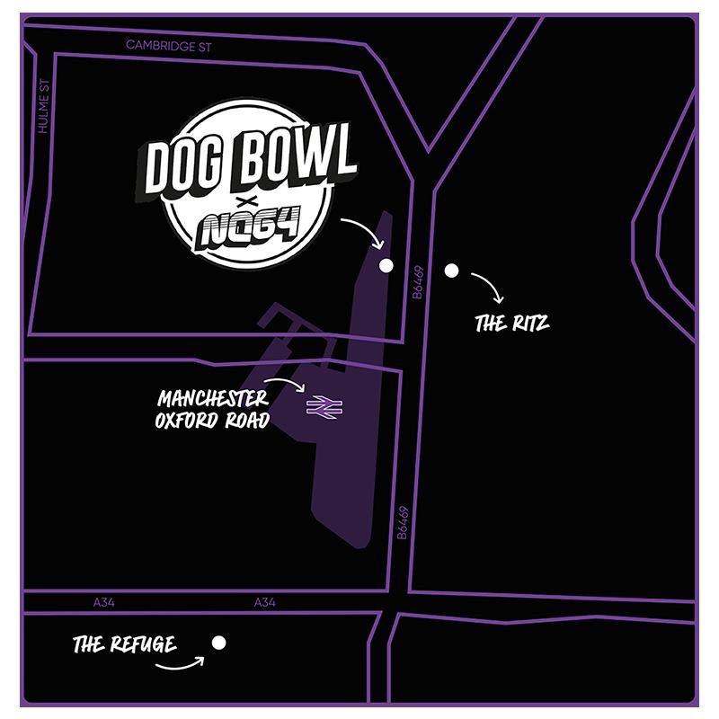 DOGBOWL MAP